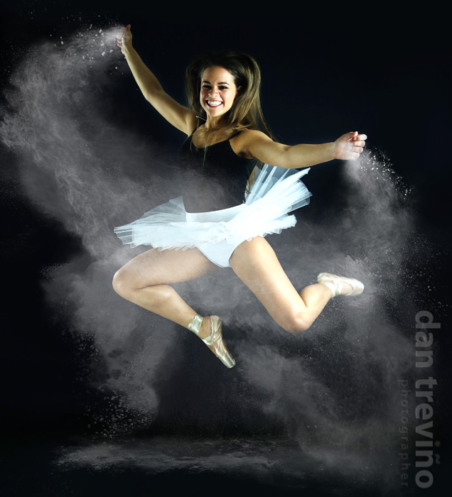 Dancer w/ chalk